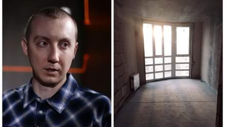 Журналіст Асєєв, звільнений з полону, отримав обіцяну Зеленським квартиру: фото