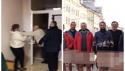 Мер побився з виборцями, оголений протест рестораторів – Ти дивись