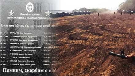 """Россия стесняется своих """"героев"""": в убитых на Донбассе военных – другие фамилии"""