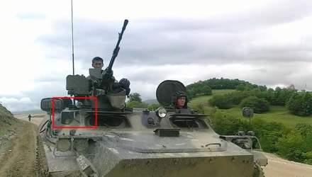 На Донбасі виявили новий бронетранспортер збройних сил Росії: докази