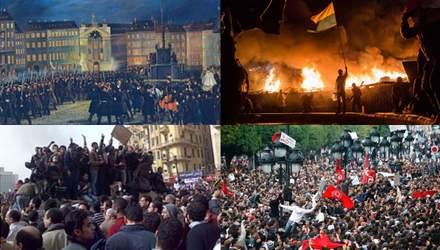 """Новая """"весна народов"""": что объединяет Майдан, восстания в Египте и Гонконге"""