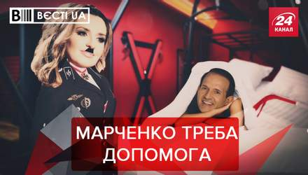Вєсті.UA: Журналістам Медведчука заклеїли роти
