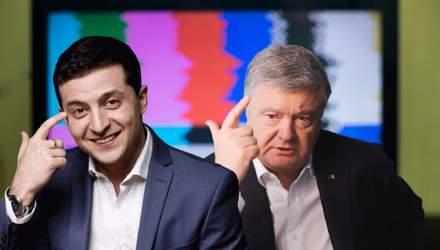 Эволюция Зеленского против позиции Порошенка: запрет каналов Медведчука сломал шаблон