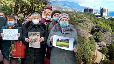 Вирубують екзотичні дерева: кримчани просять Путіна зберегти Фороський парк