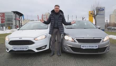 Big Test: порівнюємо універсали Ford Focus та Peugeot 308 SW