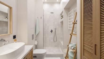 Інтер'єр ванної кімнати: чим замінити шафу над умивальником