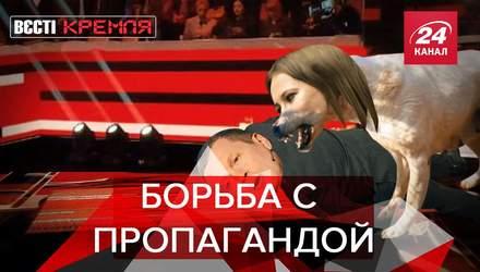 Вести Кремля. Сливки: Российские собаки борются против пропаганды