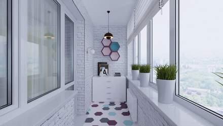 Як облаштувати балкон або лоджію у квартирі: 5 порад
