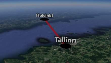 Гельсінкі й Таллінн з'єднають підводним тунелем: масштабний проєкт
