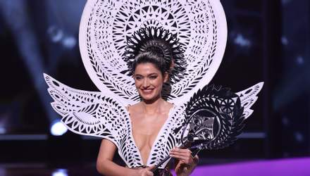 """""""Міс Україна"""" презентувала у США національний костюм: вражаючі фото з конкурсу"""