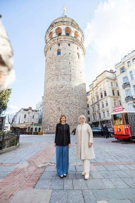 Олена Зеленська з пані Ердоган