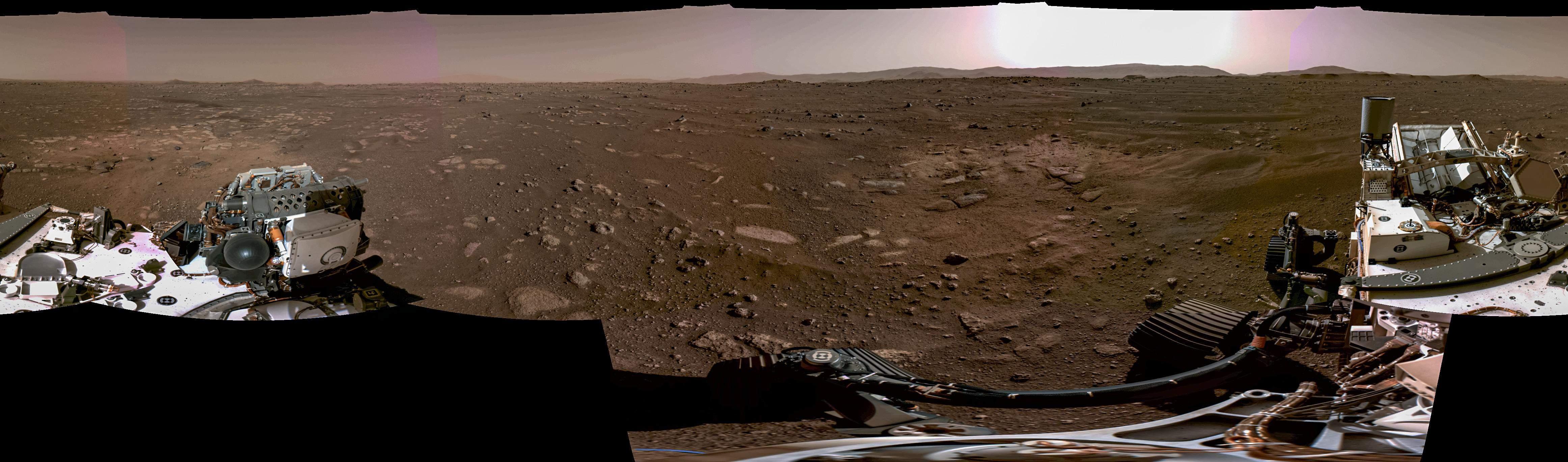Панорама Марсу