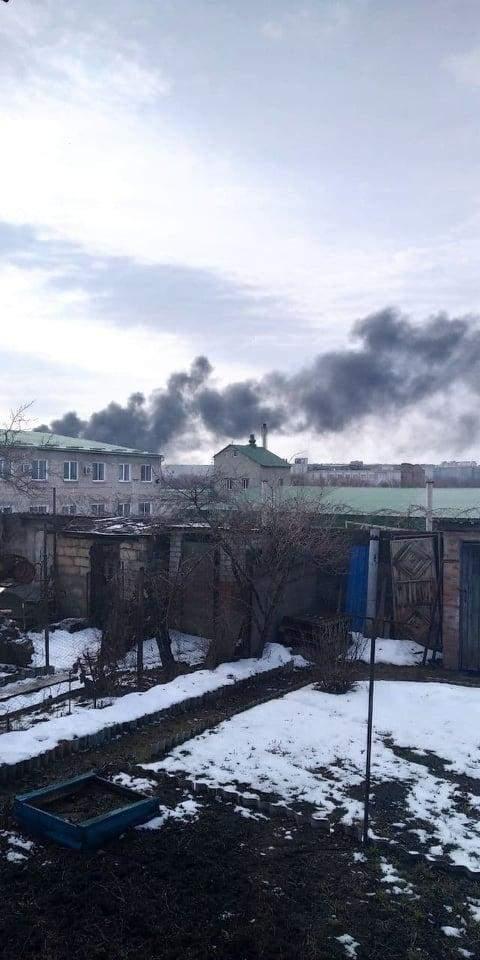 У Луганську вибухнув склад бойовиків