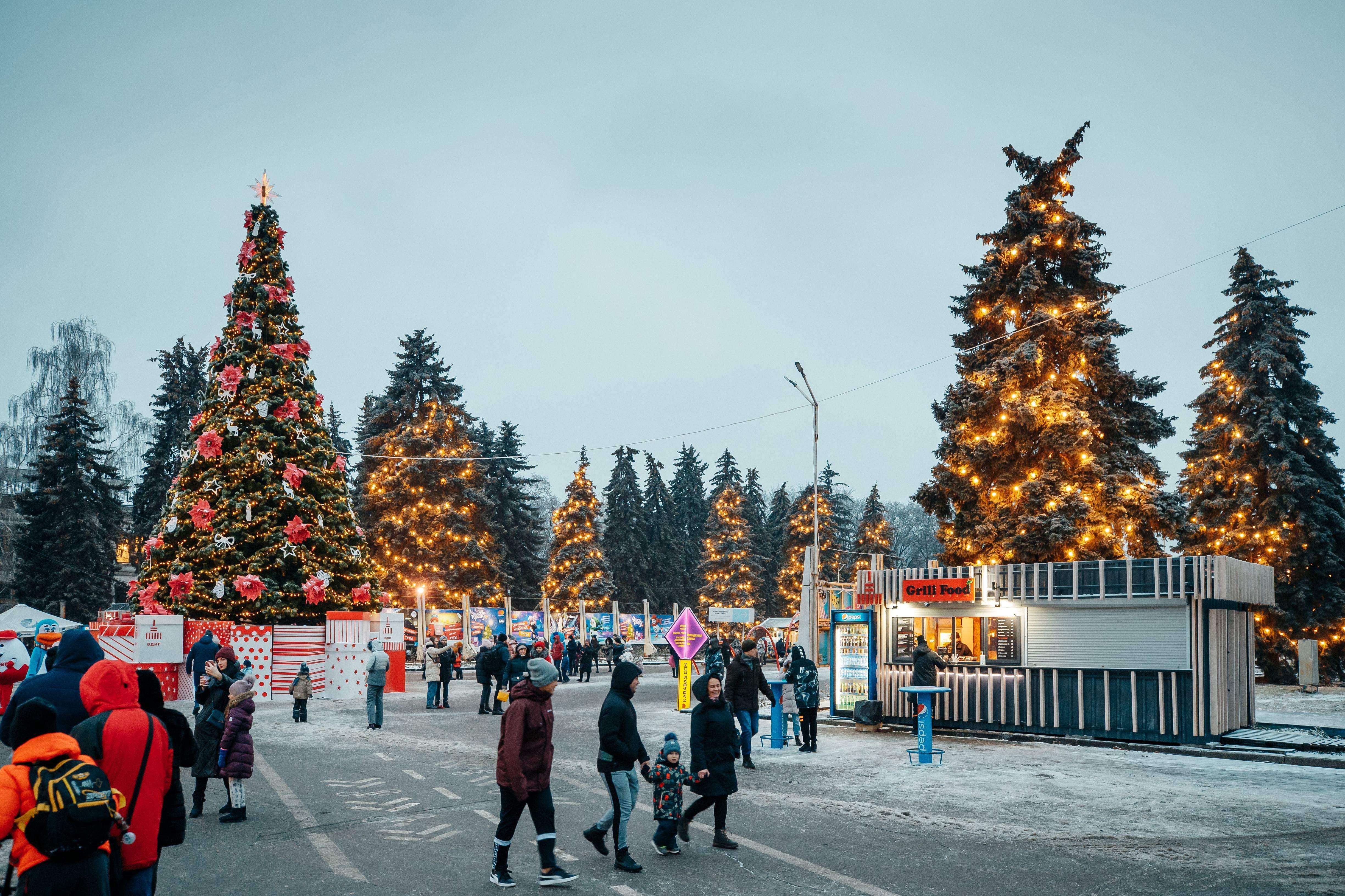 Зимова країна на ВДНГ 2020