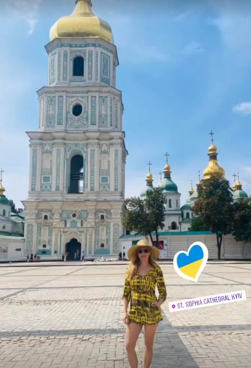 Кетрін Винник у Києві