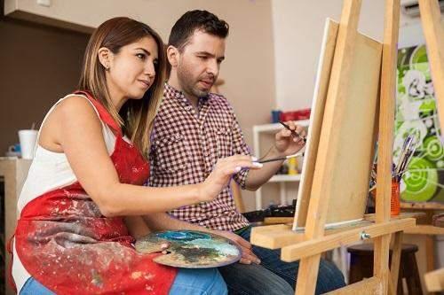 Малювання картини разом