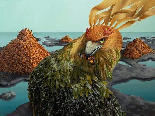 Художник малює фантастичних химерних істот: неймовірні картини Джона Чина