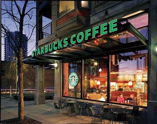 Купити стильне крісло можна в будь-якій кав'ярні Starbucks у Британії