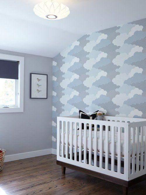 Акцентна стіна у дитячій кімнаті