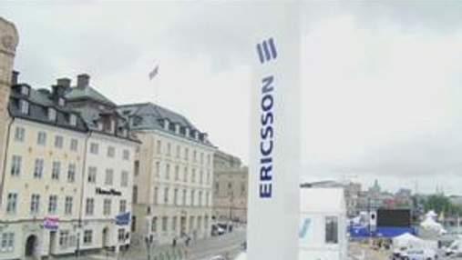 Башня Эрикссона в центре старого Стокгольма - настоящее сочетание хай-тека и модерной архитектур