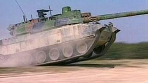 Французький танк AMX-56 Leclerc один з найдосконаліших бойових машин