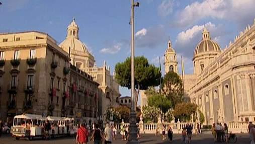 Катанія - друге за величиною місто італійського острова Сицилія