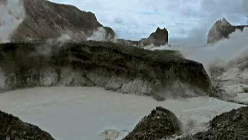 Вайт-Айленд - єдиний вулканічний острів Нової Зеландії