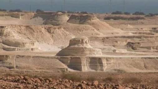 Оазис Эйн-Геди - место паломничества царя Давида и Иоанна Крестителя