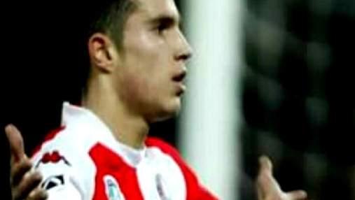 Ван Перси – на счету одного из лучших нападающих 41 гол в форме сборной
