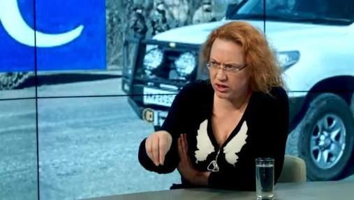 Більшість спостерігачів ОБСЄ в АТО  — росіяни, є й корупціонери і симпатики Путіна, — активістка