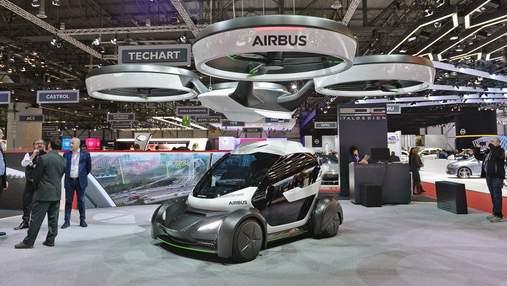 Авиакомпания взялась воплощать в реальность идею летучего электрокара