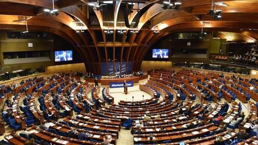 У ПАРЄ закликали Росію негайно звільнити Олега Сенцова