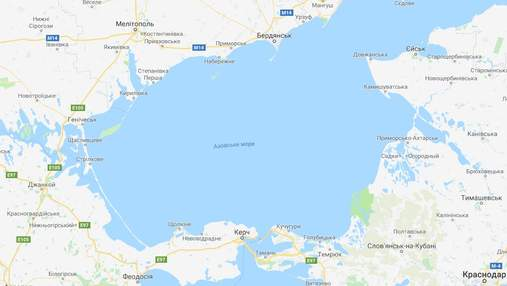 Чи вдарить Росія з Азовського моря: прикордонники роз'яснили ситуацію