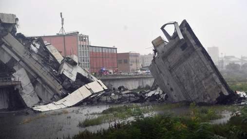 Обвал моста в Генуе: среди пострадавших есть украинцы