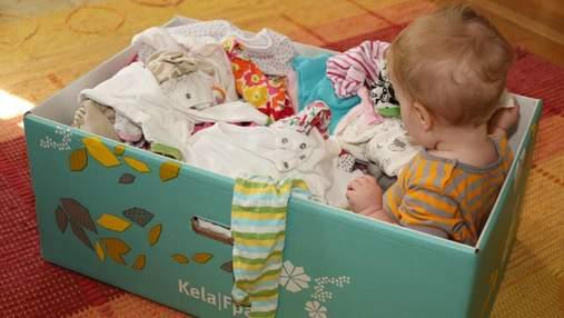 """""""Пакунки малюка"""" – нарешті в малюків: у Харкові кількасот родин отримали бебі-бокси"""