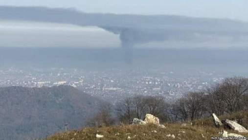 Пожежа на металургійному заводі у російському Владикавказі: жителі в паніці покидають місто