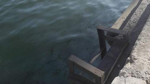 В Азовському морі зафіксовано витік нафти