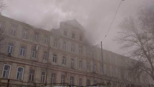 Пожежа в обласній лікарні Львова: у поліції зробили заяву