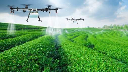 """В """"Укрлендфарминге"""" Бахматюка повышают качество урожая, используя беспилотники"""