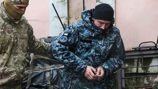 Суд Москвы продлил арест еще четырем  пленным украинским морякам