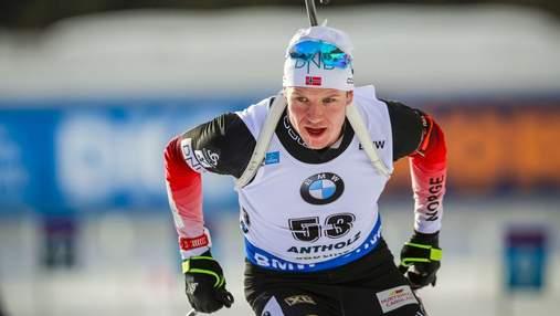 Биатлон: Кристиансен неожиданно победил в спринте в Солт-Лейк-Сити, украинцы за пределами топ-30