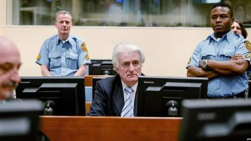 Бывшего лидера боснийских сербов Караджича в Гааге приговорили к пожизненному заключению