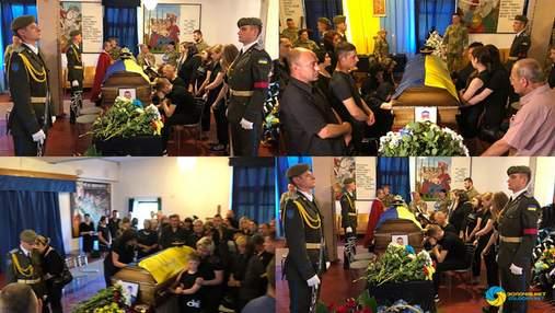 Катастрофа Ми-8 на Ровненщине: на Львовщине похоронили погибших военных – фото, видео