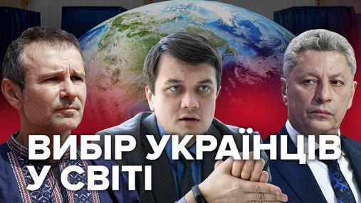 Парламентські вибори-2019: за кого проголосували українці за кордоном