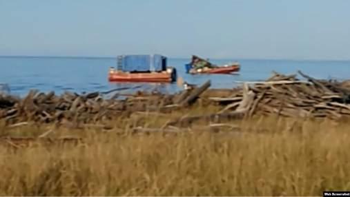 Взрыв и радиация под Архангельском: первые фото и видео с места инцидента