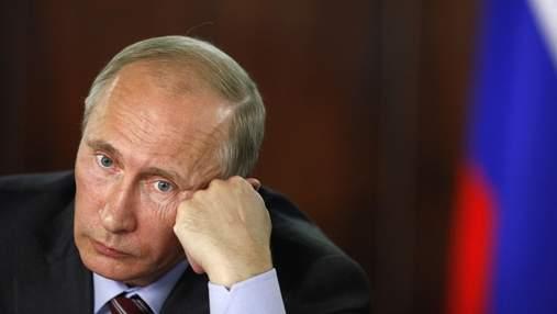 Очередной курьез: Путин не смог запустить ракету во время учений в РФ