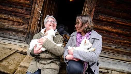 Катерина Лісова – переселенка з Донбасу, яка створила успішну козячу ферму у Карпатах