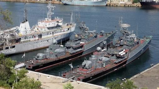 Росія розповіла про стан кораблів України, що залишились в Криму після окупації