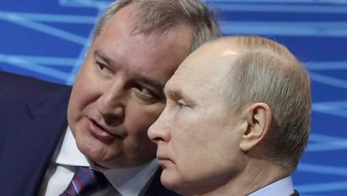 """Глава """"Роскосмосу"""" заявив про плани створити """"ліфт"""" на Місяць"""