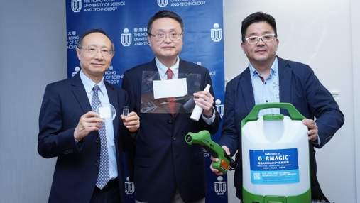 В Гонконге разработали антимикробный спрей, который сможет защитить от COVID-19: фото